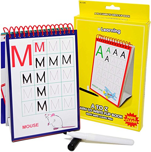 Esposti Children's A to Z Learn to Write Flip Book - Childrens Learning by Esposti