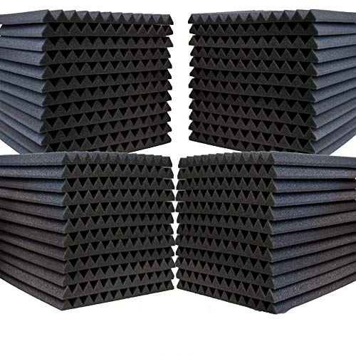 48 Pack- Acoustic Panels Studio Foam Wedges 1