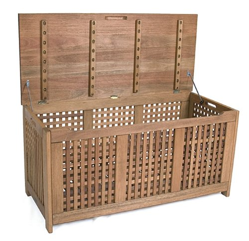 Amazonia Porto Real Eucalyptus Chest (Forest Stewardship Council-certified Eucalyptus Outdoor Furniture Collection)
