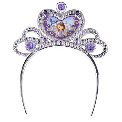 [Sofia the First Royal Tiara Costume Accessory] (Crown Royal Girl Costume)