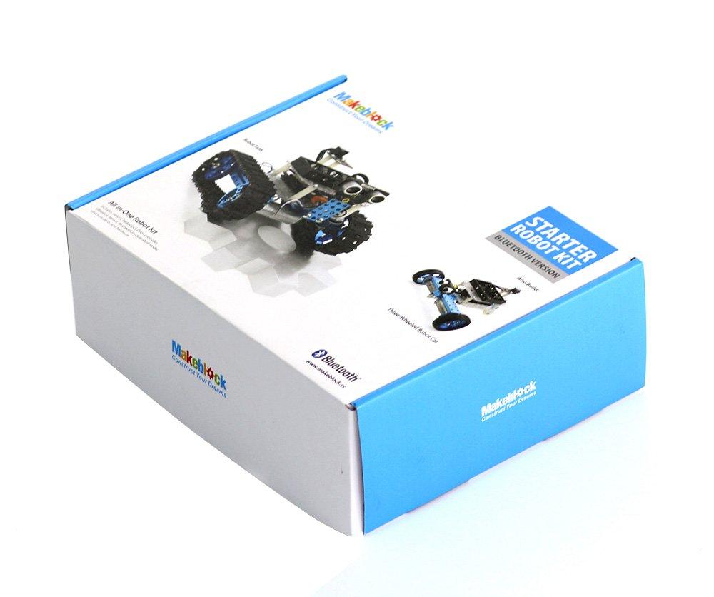 Amazon.es: Makeblock - Bricolaje DIY Robot Educativo Starter Kit con Sensor Ultrasónico Bluetooth Módulo para Arduino Aprendizaje, 90020