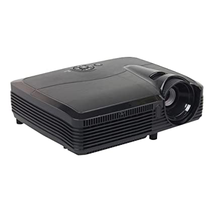 Amazon.com: 3d HD Proyector 1500 ANSI lúmenes 1080P ...