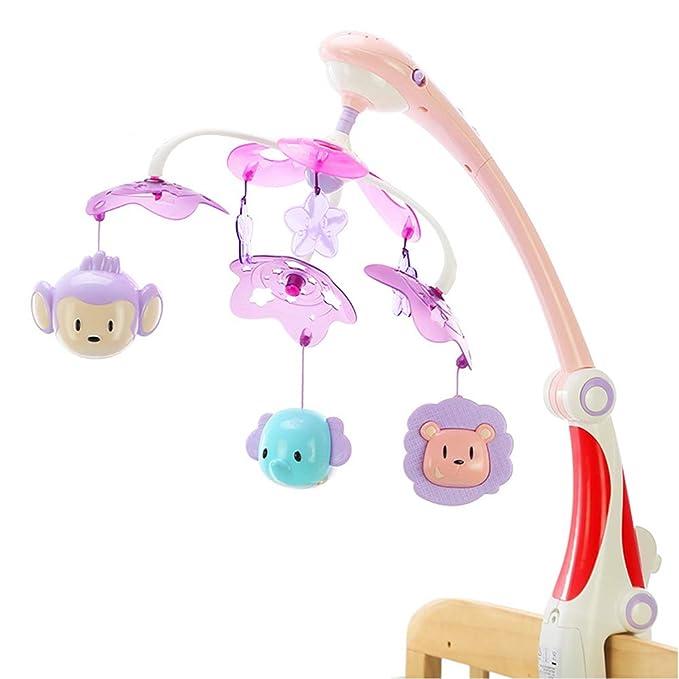 Campanilla móvil para bebé con proyector de luz de estrella ...