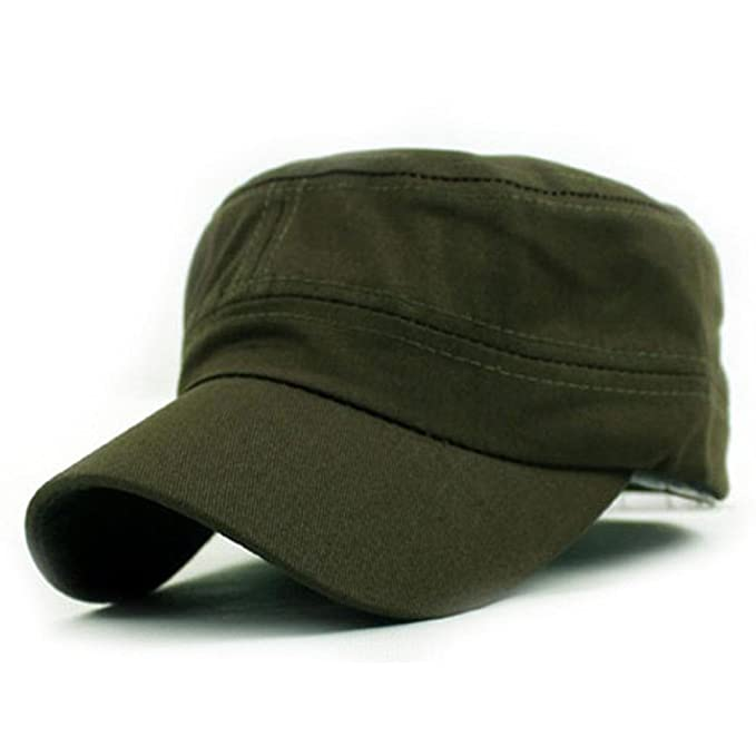 Herren Damen Army Militär Kadett Mütze Baseball Cap Freizeit Mesh Hüte Hat Kappe