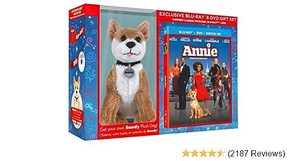 Amazon.com: Annie (Blu-ray + DVD) (Gift Set with Plush Toy): Jamie Foxx, Quvenzhané Wallis, Rose Byrne, Bobby Cannavale, Adewale Akinnuoye-Agbaje, ...