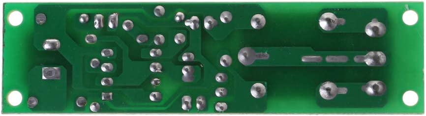 BIlinli NE555 Relais DC 12V Timer Einstellbare Verz/ögerung Ausschalten Schalterrelais-Modul einschalten
