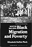 img - for Black Migration and Poverty in Boston, 1865-1900 (Studies in Social Discontinuity) book / textbook / text book
