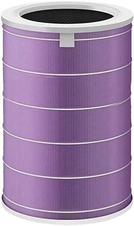 SMILEQ Adaptación para purificador de Aire For Xiaomi Elemento de Filtro Púrpura Eliminación de formaldehído (Púrpura): Amazon.es: Hogar