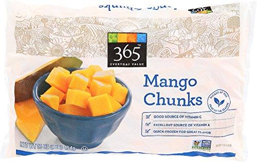 365 Everyday Value, Mango Chunks, 16 oz, (Frozen): Amazon.com: Grocery & Gourmet Food