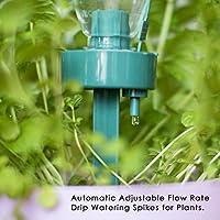 Auto Riego estacas, jardín regadera agua cuentagotas botella cono de riego jardín riego Spike para vacaciones planta riego: Amazon.es: Jardín