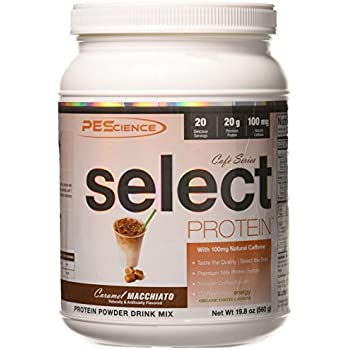 PEScience Select Cafe Series, Caramel Macchiato, 19.8 Ounce