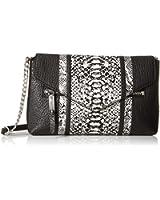 MILLY Melrose Snake Cross-Body Bag