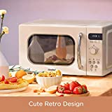 COMFEE' Retro Countertop Microwave Oven with