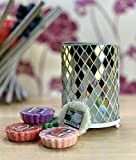 Yankee Candle Official Mosaic Wax Melt Warmer Burner With 5 Classic Popular Tarts