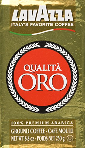 Lavazza Ground Coffee Qualita Oro 250g (4-pack)