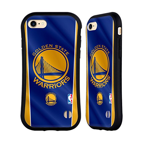 Official NBA Banner Golden State Warriors Hybrid Case for Apple iPhone 7 / 8 (Case State Phone Cell)