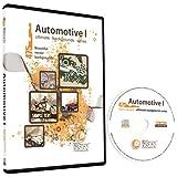 Automotive Backgrounds-Motorcycle/Biker Vector Clip Art Images-Grunge Hot Rod Background-Car Clipart Illustration-Graphic Design CD