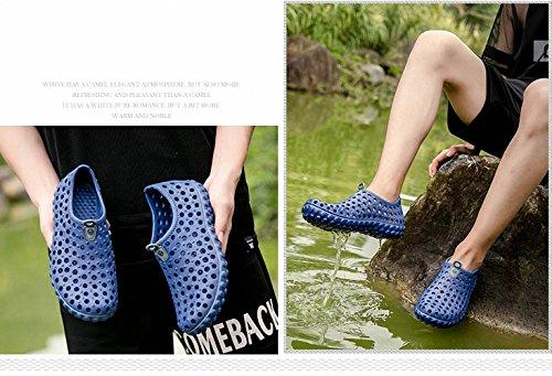 Amazon.com | Summer Beach Sandals Men Outdoor Garden Shoes Casual Unisex EVA Slippers Men Water Shoes Beach Flip Flops Croc Clogs | Mules & Clogs