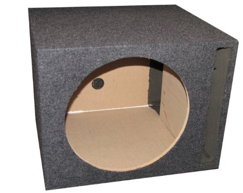 Q Power Single 10-Inch Vented Unloaded Box