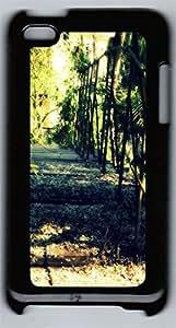 ipod 4 CaseGlowing Bridge PC Custom ipod 4 Case Cover Black