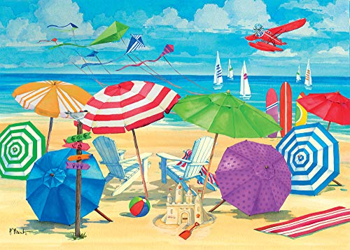 Ravensburger 13590 Meet me at The Beach Jigsaw Format Puzzle (300 Piece), Multicolor, Large