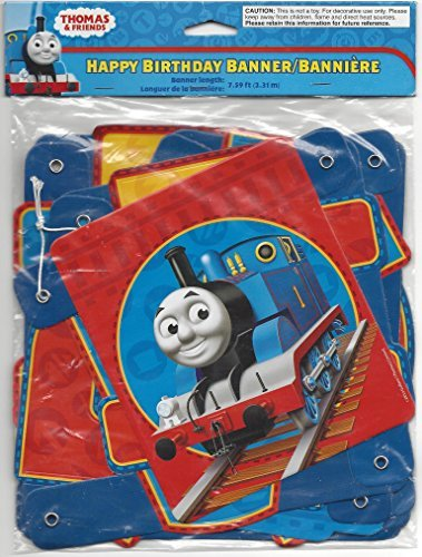 Thomas and Friends Happy Birthday Banner (1ct) -