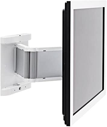 SMS Flatscreen WH - Soporte de pared de aluminio para televisores, color blanco: Amazon.es: Electrónica