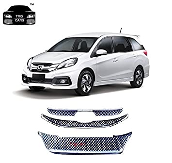 Trigcars Honda Mobilio Front Grill Chrome Plated Free Gift Amazon