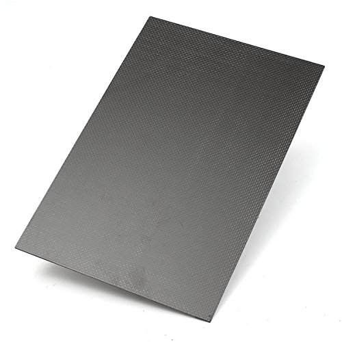 ChaRLes CF205 3K 200×300×5mm Plain Weave Carbon Fiber Plate Panel Sheet Model Building Building