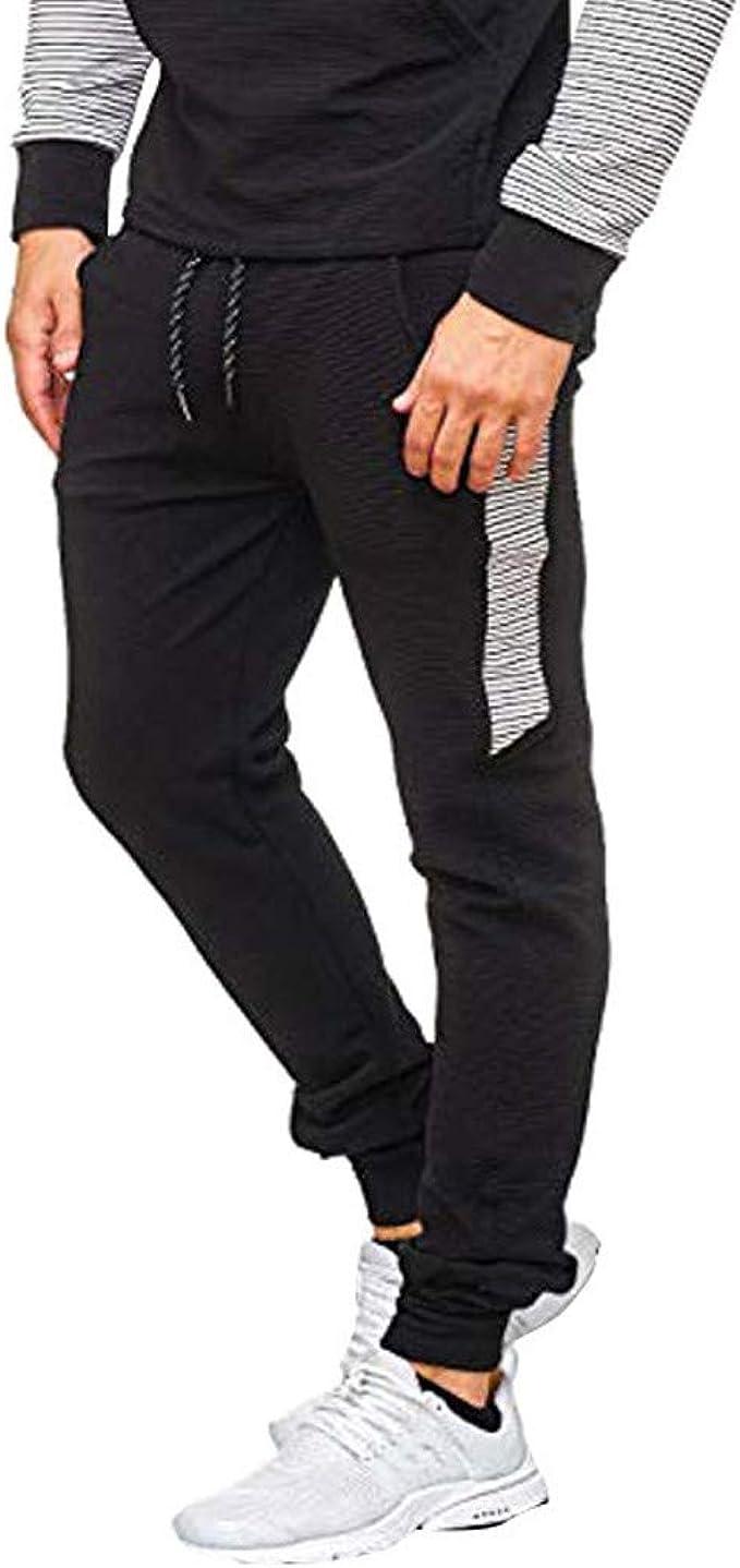Logobeing Pantalón Chandal Hombre Trabajo Pies de Costura ...