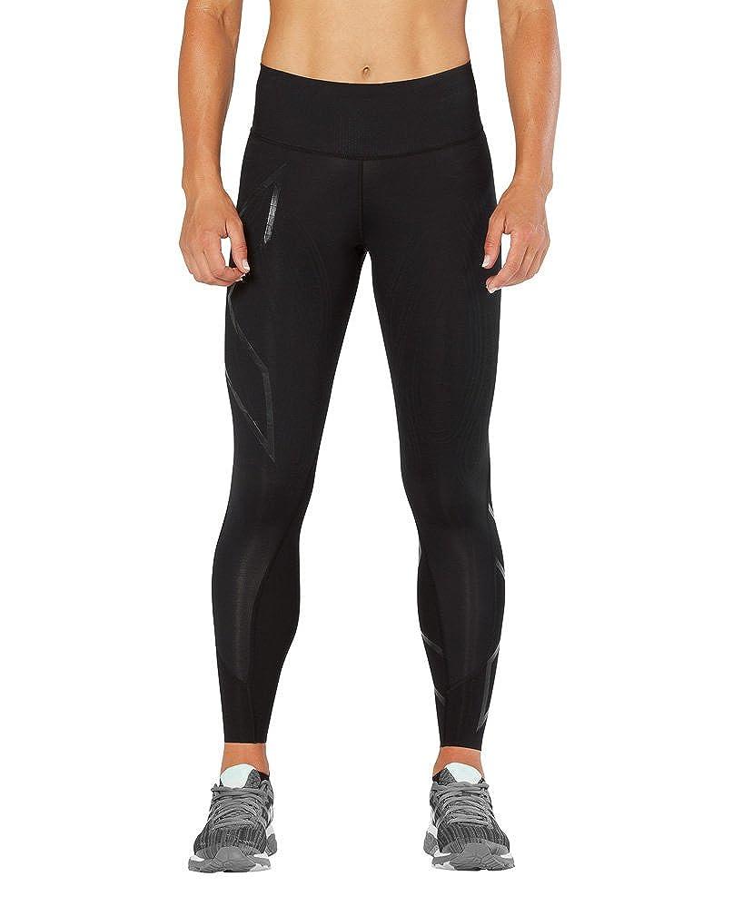 9869680aca Amazon.com : 2XU Women's MCS Mid-Rise Compression Tights : Clothing
