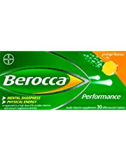 Berocca Performance Effervescent, Orange, 30ct