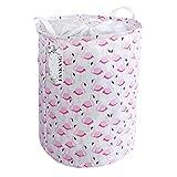 FANKANG Large Laundry Hamper Storage Bin Collapsible Pink Flamingo Deal