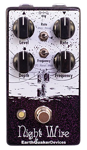 EarthQuaker Devices Night Wire Harmonic Tremolo Effects Pedal