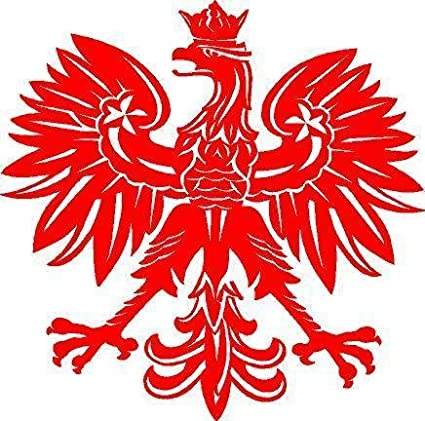 Amazon Just For Fun Red 10 Polish Eagle Poland Symbol