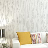 Moonguiding 10M 3D Modern WallPaper Roll TV Background For Living room & Bedroom Home Decor