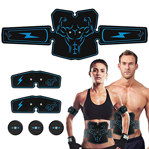 Haofy ABS Stimulator Abdominal Muscle Toner Trainer, for sale  Delivered anywhere in Canada