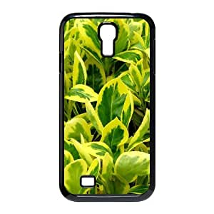 Leaf & Leaves Series, Samsung Galaxy S4 Cases, Yellow Leaves 2 Cases for Samsung Galaxy S4 [Black]