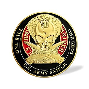 United States Army Sniper Challenge Coin from XJmil