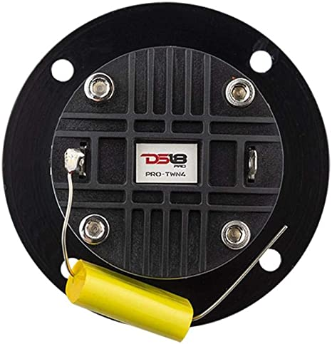 140W RMS 4 Ohms with Built in Crossover 1 Speaker DS18 PRO-TWN4 ...