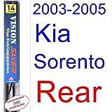 2003-2005 Kia Sorento Wiper Blade (Rear) (Saver Automotive Products-Vision Saver) (2004)
