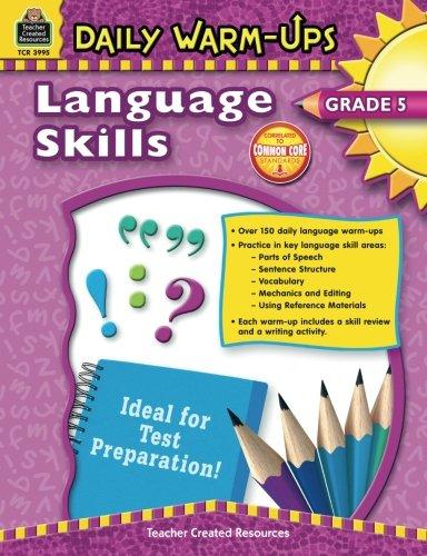 Daily Warm-Ups: Language Skills Grade 5