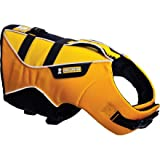 Ruffwear Big Eddy Float Coat Dog Lifejacket Sunrise Yellow, S, Outdoor Stuffs