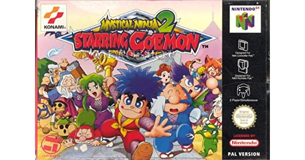 N64 - Mystical Ninja 2 Starring Goemon: Amazon.es: Videojuegos