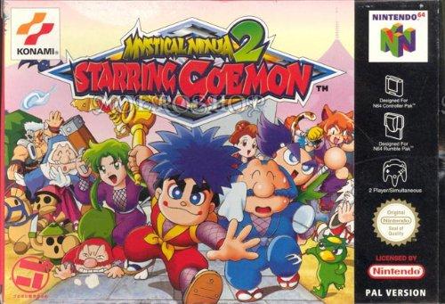 N64 - Mystical Ninja 2 Starring Goemon: Amazon.es: Videojuegos