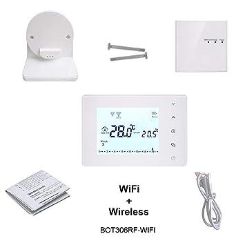 Termostato Wifi inalámbrica termostato inteligente for el ...