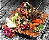 Raw Organic Mini Original Veggie Wraps | Wheat-Free, Gluten Free, Paleo Wraps, Non-GMO, Vegan Friendly Made in the USA