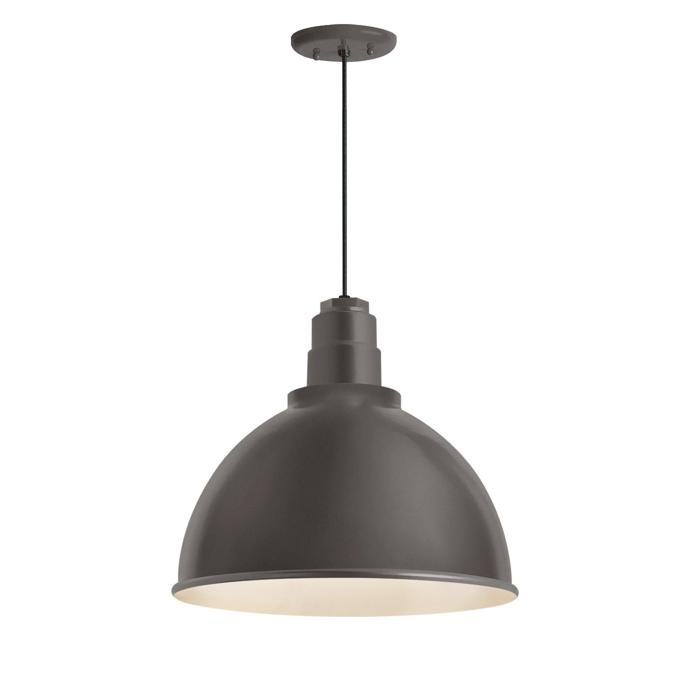 Troy RLM 5DRD12MTBZ-BC Deep Reflector Outdoor Pendant, Textured Bronze by Troy RLM