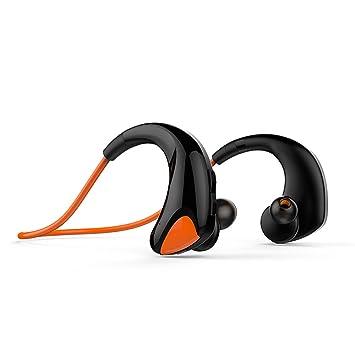 KUNCC Auriculares Bluetooth Inalámbricos, Binaural Después De Colgar Auriculares Deportivos, Polychromatic Ligeros De Moda