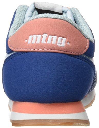 Mtng Jogger, Zapatillas de Deporte Unisex Niños Azul (ACTION PU Azul Royalraspe Salmon)